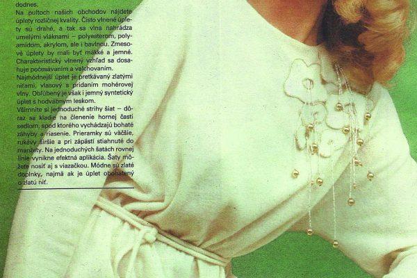 úpletové šaty (1983)