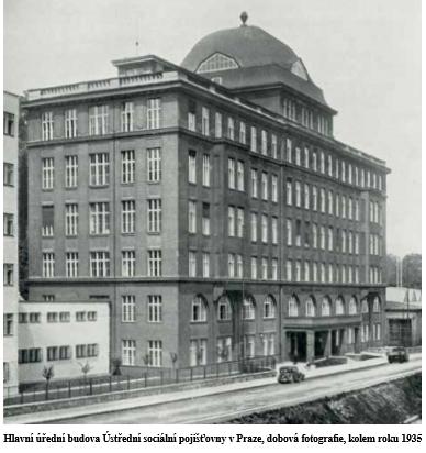 budova pojišťovny